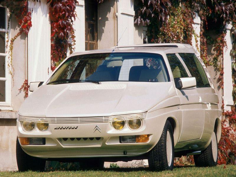 1986 Aventure concept by Sbarro on a C15 base