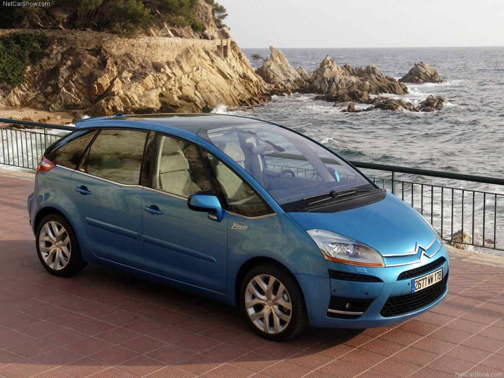 1. sukupolven C4 Picasso 2006