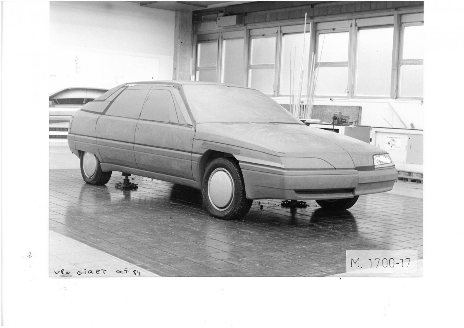 V80 Project by GIRET, 1984