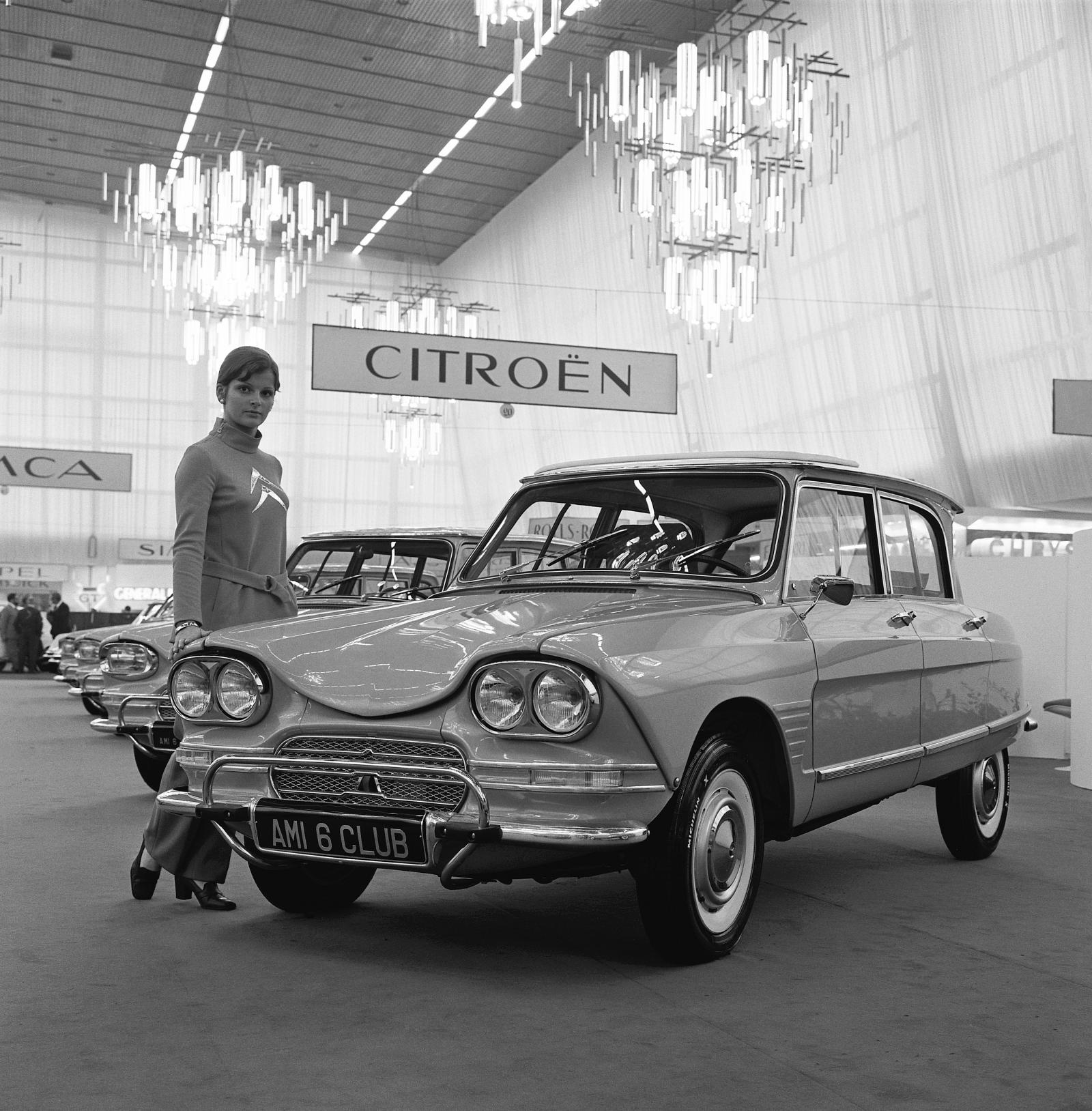Salon de l'Automobile -autonäyttely 1966, AMI 6 Klubi